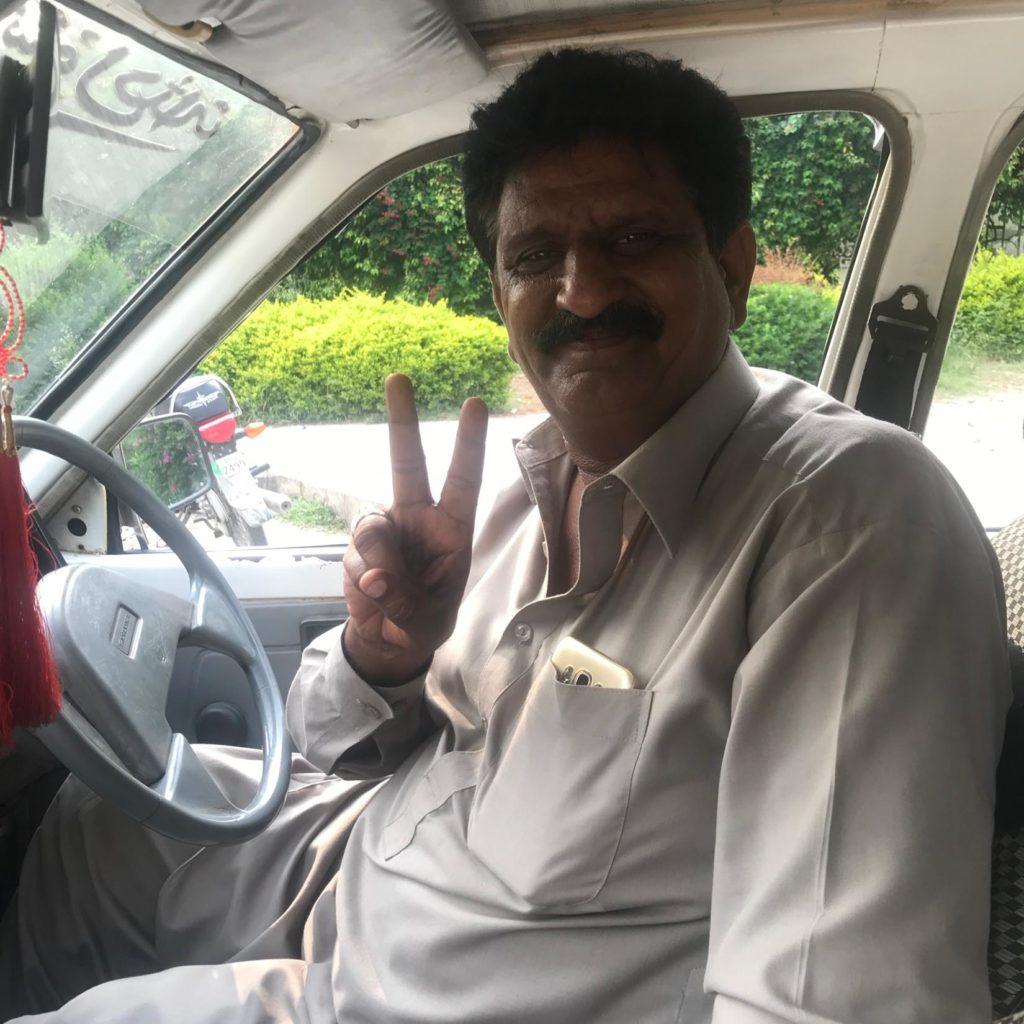 Taxi driver, Islamabad