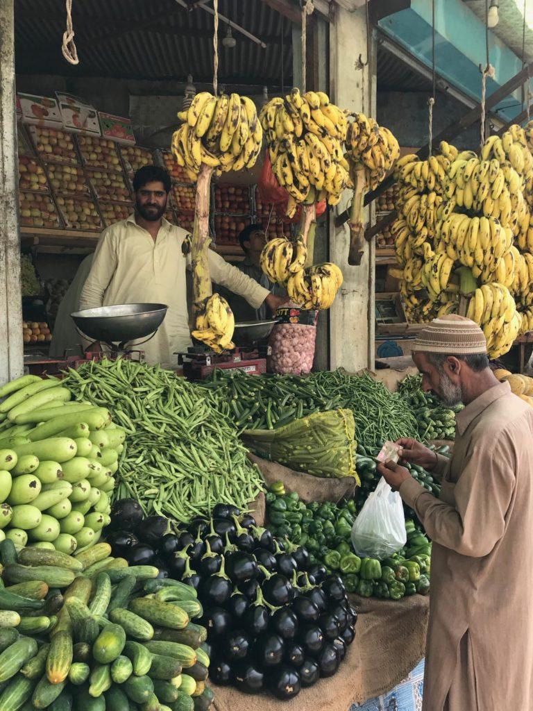 Market, Balakot