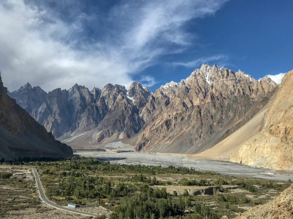 Passu Cones, Pakistan