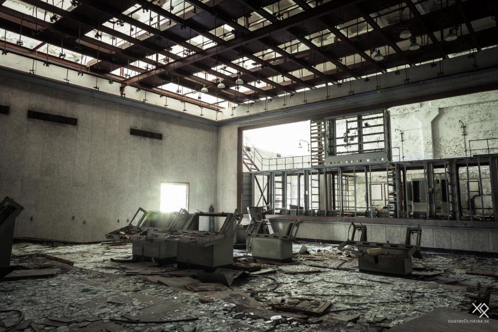 Duga Radar, Chernobyl