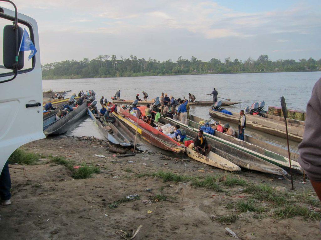 Sepik boats, Pagwi