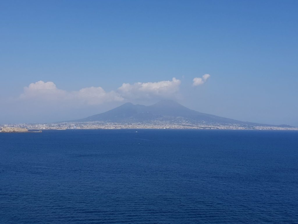 Vesuvio from Posilipo