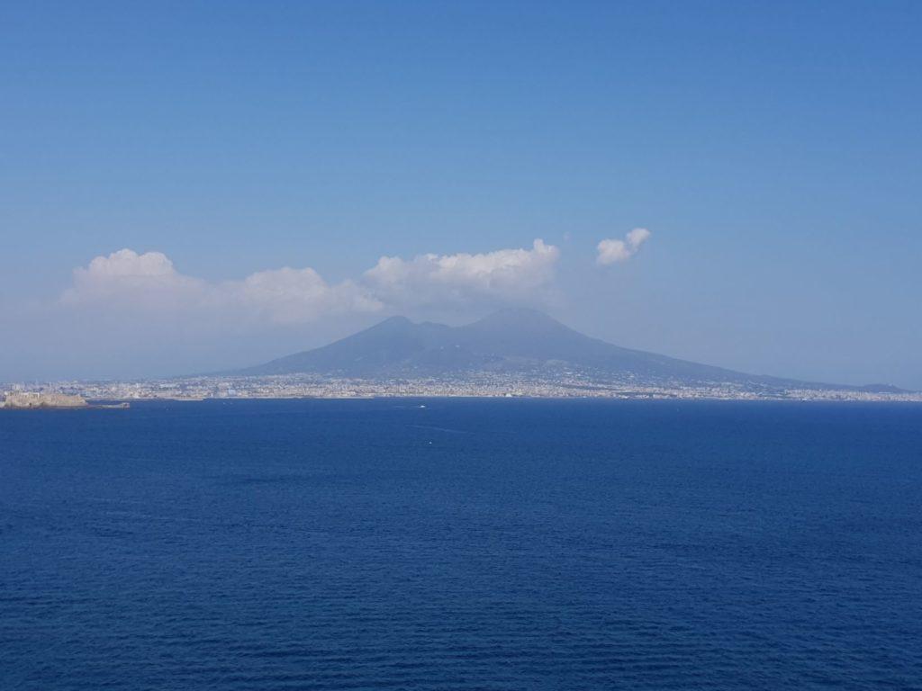 Vesuvio from Posilipo